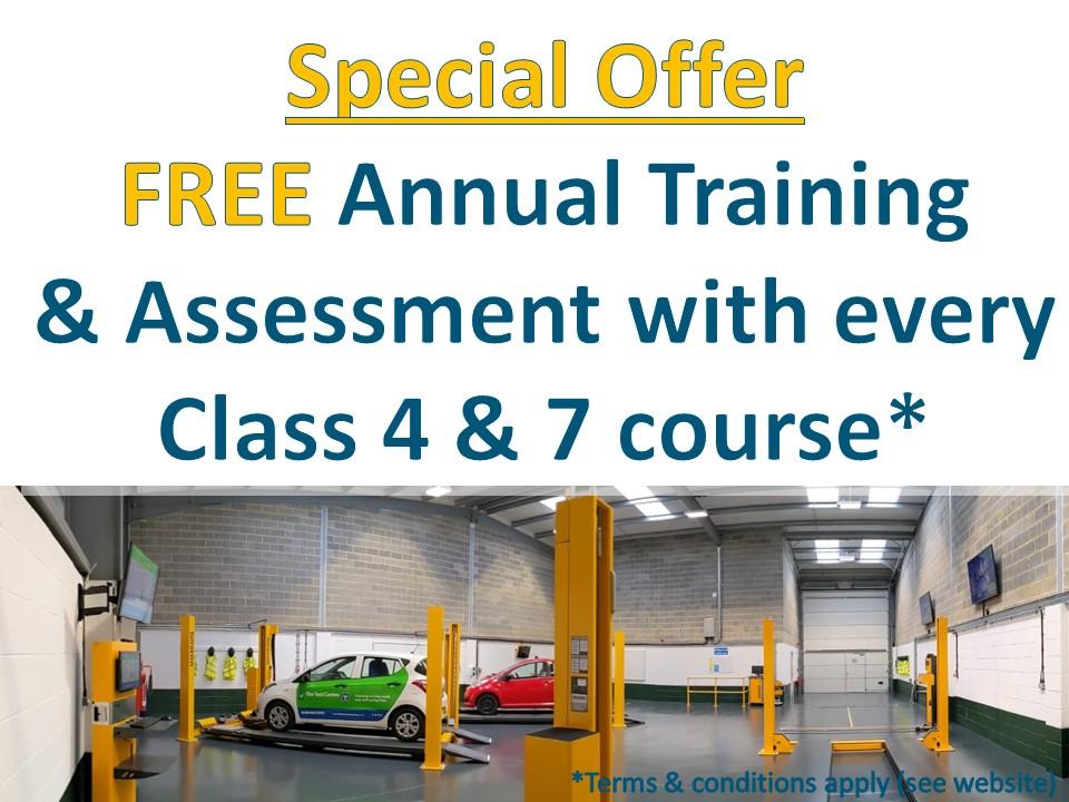 MOT Training Special Offer